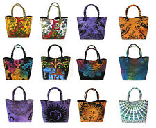 New 12 Pc Wholesale Cotton Mandala Shoulder Bag Women's Beach Towel Bags Throw