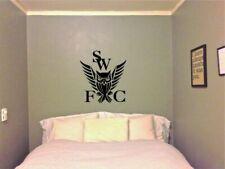 Sheffield Wednesday SWFC Wall Art Boys Room Sticker Vinyl