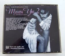 CD BOX Missing You 2 - 30 Titel mit mehr als 2 h Laufzeit auf 2 CD's