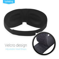 New 3D Sleep Eye Mask Soft Padded Eyepatch Travel Relax Meditation Aid Gift