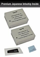 WT-NB10LK2 Original Battery (2pack) for Canon Canon NB-10L,CB-2LC , CB 2LC,