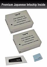WT-NB10LK2 Battery (2pack) for Canon Power Shot G1 X, G15, G16, SX40 HS,SX50 HS,
