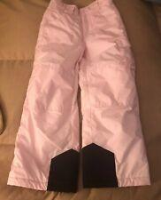 Youth Girls Sz 7/8 Light Pink COLUMBIA Snow Pants