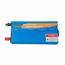Power Inverter 1000W 12V Onda Pura MAX 2000W AC 230V Camper Fotovoltaico Auto