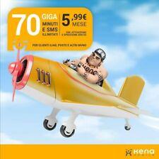 PROMO KENA MOBILE! 70 Giga 5,99€   No WIND,Tim, Tre,Vodafone. Sim omaggio !!