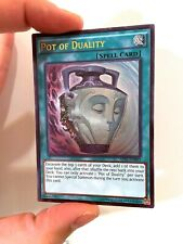 1x Yugioh Pot of Duality AP05-EN003 Ultimate Rare Unlimited Edition NM Yu-Gi-Oh!