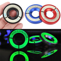 Car Ignition Coil Switch Sticker Luminous Decoration Key Hole Ring Decoration_ti