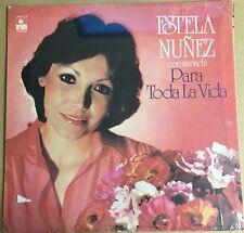 ESTELA NUÑEZ CON MARIACHI PARA TODA LA VIDA MEXICAN 1978 LP POP EN ESPAÑOL