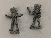 Miniatures Doctor Who Cybermen Set, OOP Citadel or Talisman Metal Figures