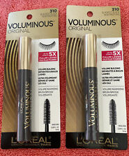*New* 2- L'OrÉAl Voluminous Original Volume Building Mascara *Blackest Black