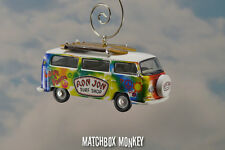 '69 Volkswagen Hippie Bus Van Ornament VW Kombi Ron Jon Surf Shop Peace Bulli