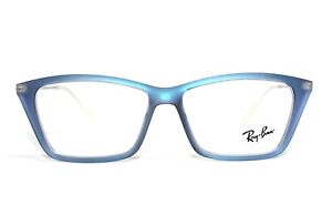 NEW RAY BAN RB 7022 5496 SHIRLEY BLUE AUTHENTIC EYEGLASSES RX RB7022 52-14-140