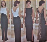 Butterick 5307 Womens 20-24 Elegant Evening Gown Mother of Bride Pattern Plus Sz