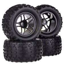 4x1/10 Monster Truck Bigfoot Wheel Rim & Tyre,Tires Fit Redcat HSP Traxxas 88026