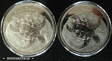 New Zealand Mint 2011 1 oz Silver Fiji Taku Coins - (999 Bullion Silver)