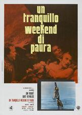Deliverance Burt Reynolds vintage movie poster #4