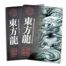 A4 The Dragon Tattoo Flash & Outline Japanese Style manuscripts Sketch book