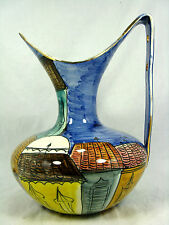 "Well shaped 60´s Italian ""alla moda"" diseño san marino Pottery pitcher 29 cm"