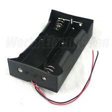 1 PCS 4 x D Size Cell Battery Holder Box 6V DC Case with Wire Lead BWL4D