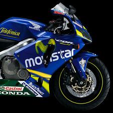 Telefonica Movistar Moto GP Fairing Decals Stickers CBR 600RR Adesivi Pegatinas