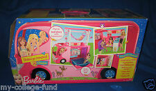 BARBIE SISTERS FAMILY POP UP CAMPER NEW