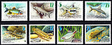 Taiwan 2011 2012  Fishes Set of 8 Stamps  MNH