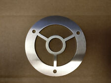 Round Stainless Steel 316 Grade Drain Cover Gully Grid Grate 3 Fixing Holes