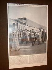 Teheran nel 1909 Lo Scià di Persia e la sua corte Mohammed Alì Mirza