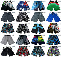 Men's Quick Dry Beach Surf Boardshorts Swim Surfing Shorts Skateboard Shorts