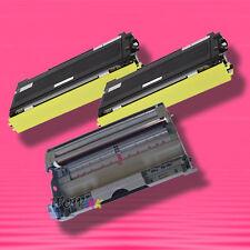 3P TONER+DRUM for Brother TN-350 TN350 DR-350 DR350 HL-2040 HL-2070N