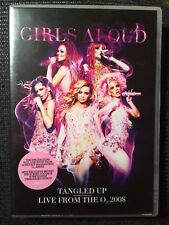 Girls Aloud - Tangled Up Tour - Live from the O2 2008 (DVD, 2008)