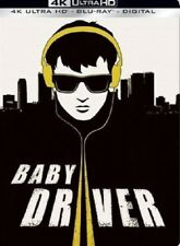 Baby Driver 4K UHD 4K (used) Blu-ray Only Disc Please Read