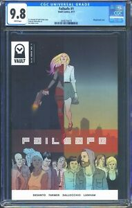 Failsafe 1 (Vault) CGC 9.8 White Pages Premiere issue Todd Farmer story