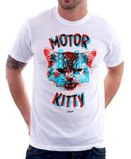MOTORE KITTY HELLO 3D White Printed Cotton T-Shirt 9788
