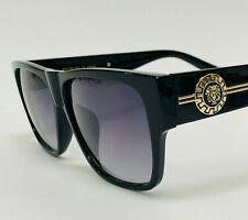Men Sunglasses Fashion Design Tortoise Black Frame Hip Hop Style Square Shades