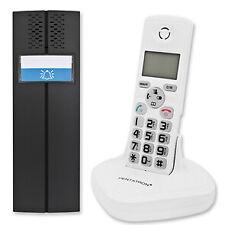 Funk Türsprechanlage mit schnurlosem Telefon, anlog, weiß, DECT GAP Standard