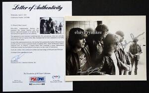 JOEY & JOHNNY RAMONE Tommy RAMONES Signed AUTOGRAPH Photo PSA/DNA COA