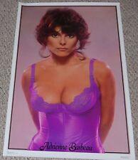 ADRIENNE BARBEAU Sexy Lingerie Poster 1978 Dargis Babe Girl Garage Shop