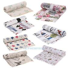 Vintage Cotton Fabric Linen Bundle Patchwork Quilting Sewing DIY Craft Scrapbook