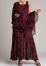 sz small Mudcloth Print Dress & bonus scarf red/black by Ashro new
