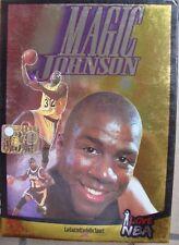 1 BOX DVD CAMPIONI PALLACANESTRO-BASKET I LOVE NBA/MAGIC JOHNSON + CARDS lakers