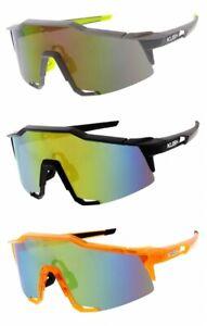 Mens Sunglasses Shield KUSH Angular 56mm XL Translucent Sport Boarding Cycling