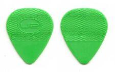 U2 Green Oval Molded Guitar Pick - 2011 360 Tour Bono Edge