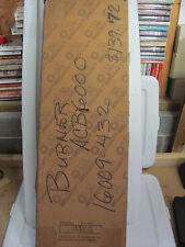 NEW ASAP Carrier Bryant Furnace Ribbon Burner Burners 15398-68 ACB6000 16009-432