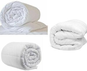 Luxury Duvet Quilt 4.5 10.5 13.5 15 Tog Single Double King Super King Bed Size
