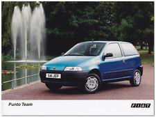 Fiat Punto Team Press Release Photograph