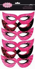 Hen night birthday party girls night eye masks pack of 6 brand new