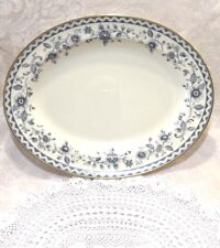 Royal Doulton China Josephine Gold H5235  Large Oval Serving / Chop Platter