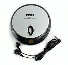 Naxa NPC319 Slim Personal Compact Disc Player (Silver/Black)