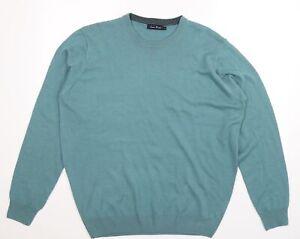 James Pringle Mens Blue  Knit Pullover Jumper Size L